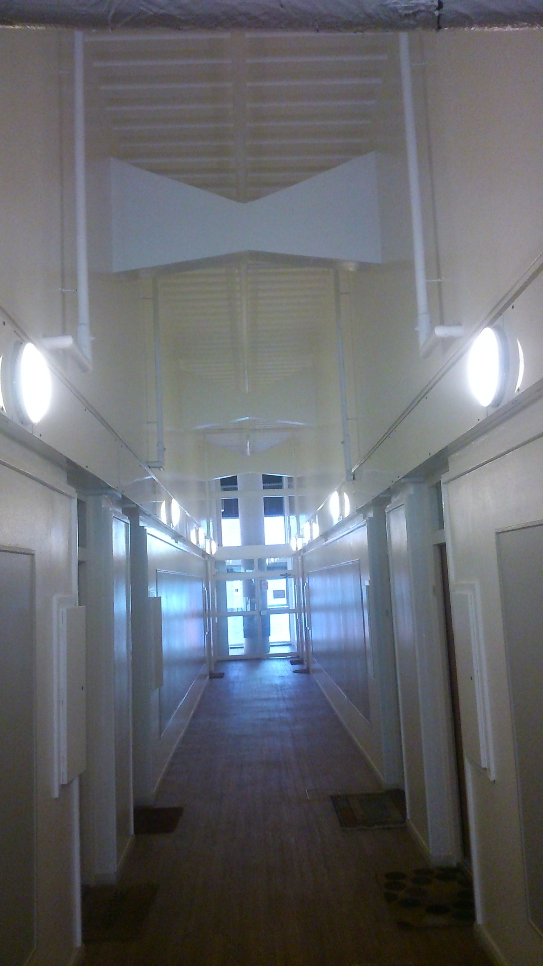AFTER - LED Emergency lighting