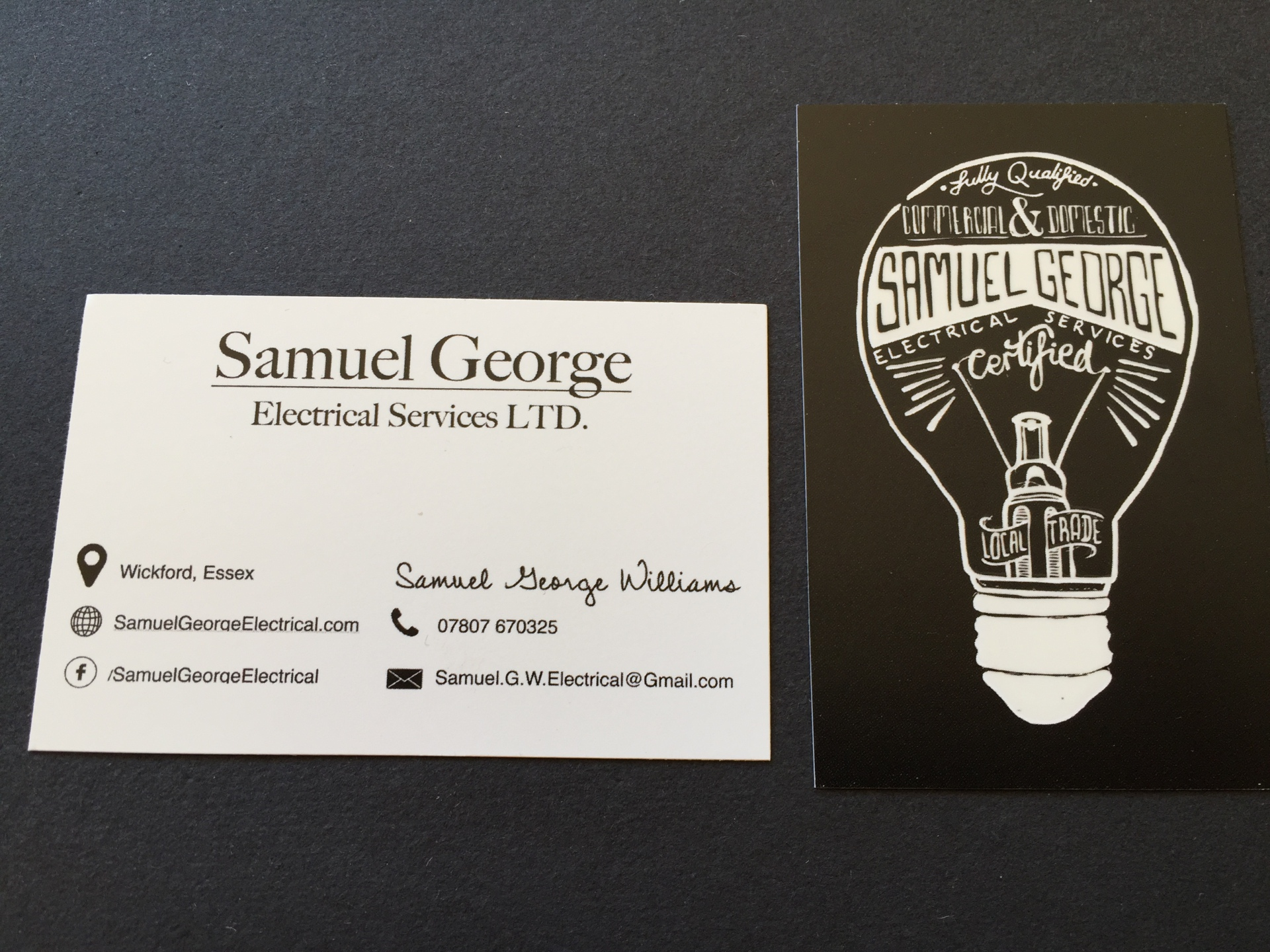 Our Business cards