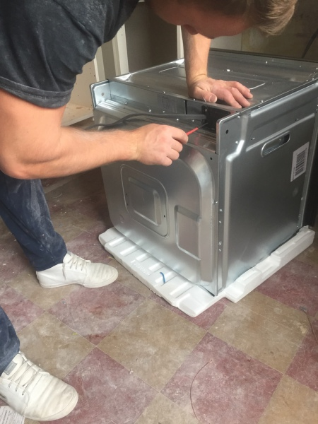 Cooker Installation