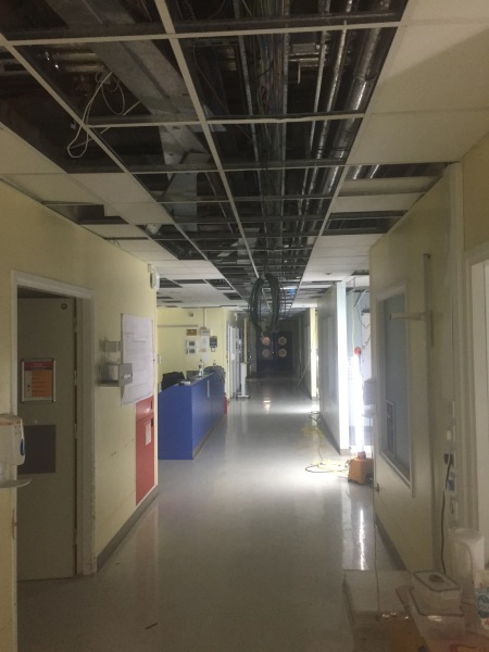 King Georges Hospital Re-wire