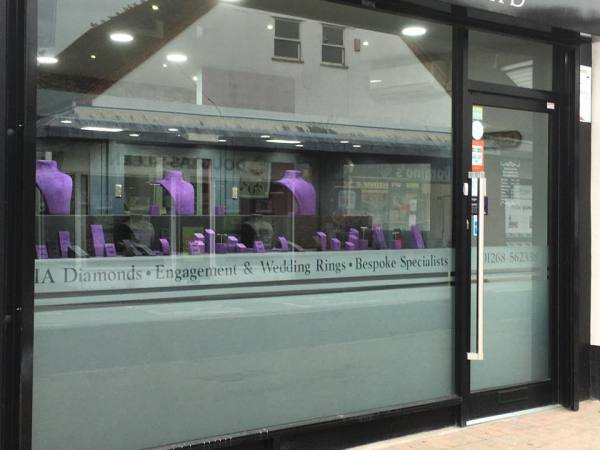 Jewellers Lighting Display