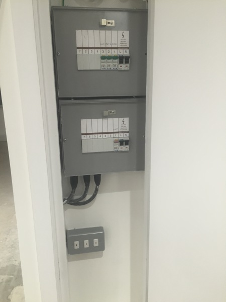 Two Domestic Consumer units (Fuse boards)