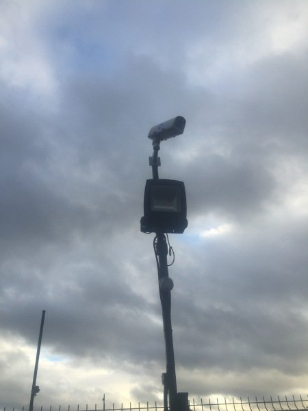 Car Park Lighting & CCTV Installed